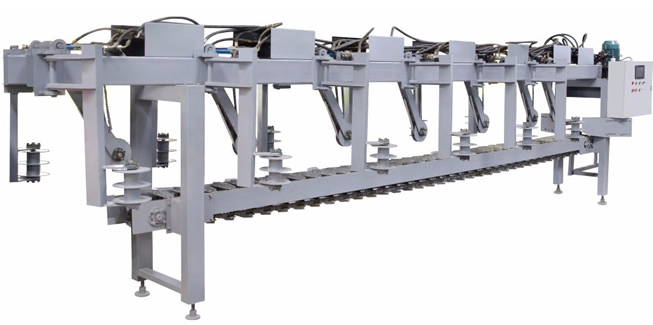 圆木加工自动生产线方案三